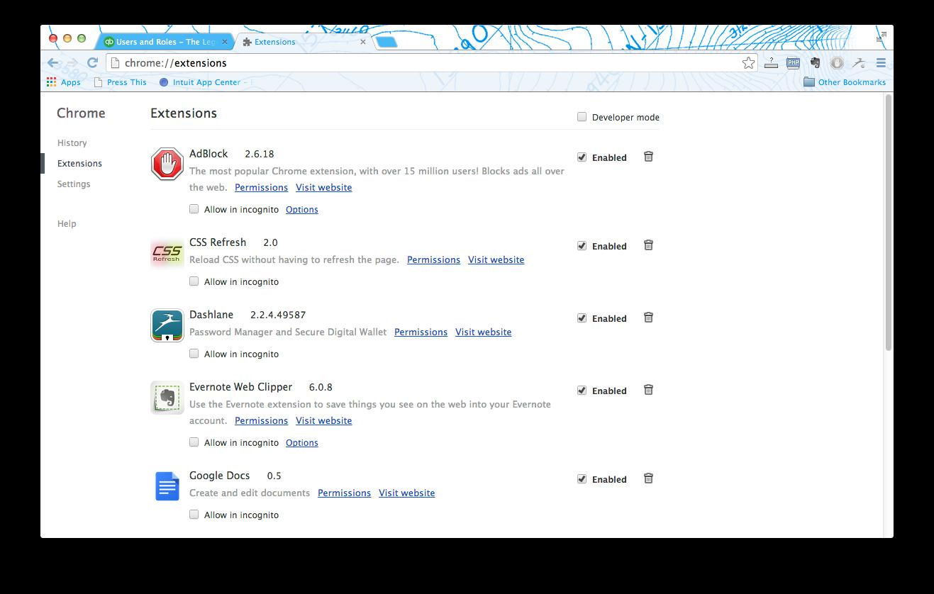 QuickBooks Online Google Chrome Pop-up Fix - The Legendary Candle Co