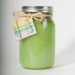 32 Ounce Highland Heather Scented Mason Jar Candle