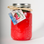 32 Ounce Strawberry Fields Scented Mason Jar Candle