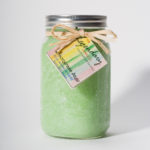 32 Ounce Lemongrass Sage Scented Mason Jar Candle