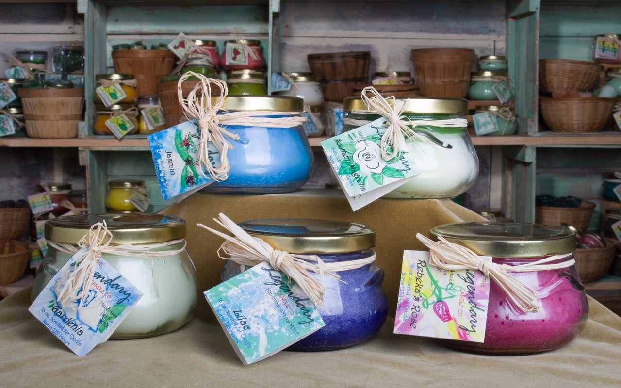 Floral 16 Ounce Tureen Jar Candles