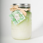 32 Ounce Southern Magnolia Scented Mason Jar Candle