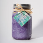 32 Ounce Lilac Scented Mason Jar Candle