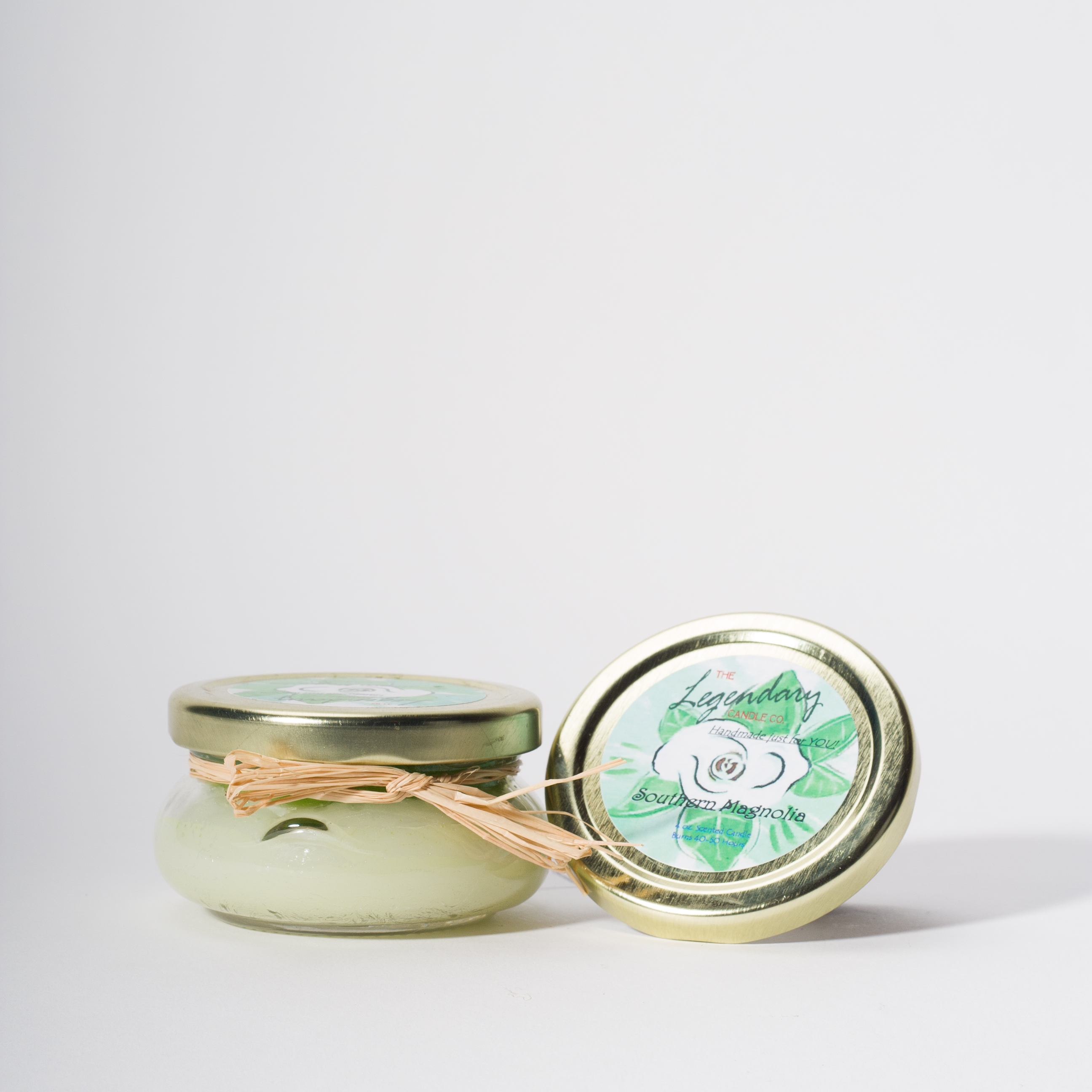 4 Ounce Southern Magnolia Scented Tureen Jar Candle