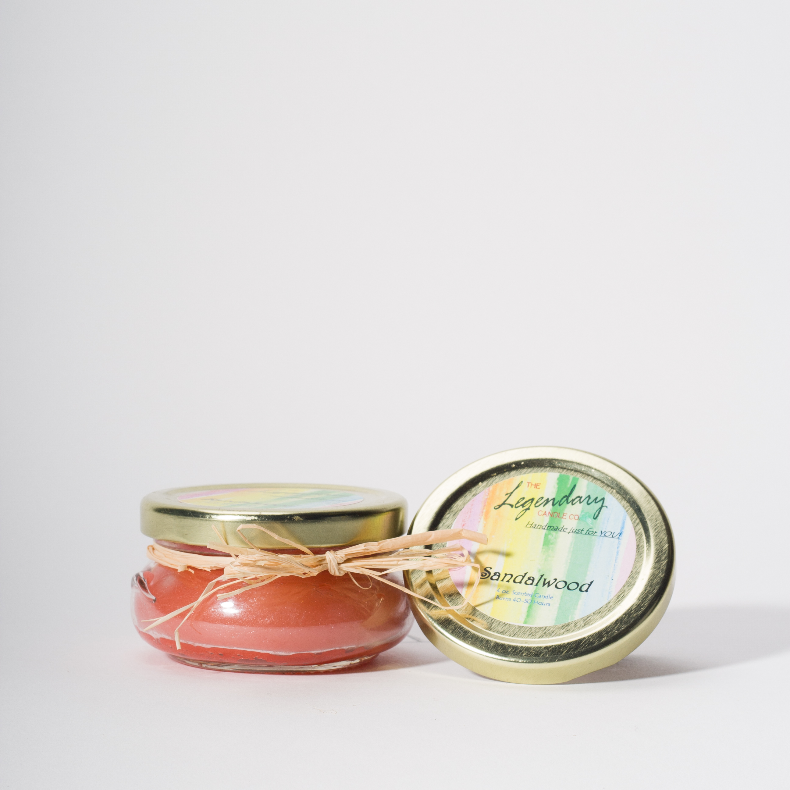 4 Ounce Sandalwood Scented Tureen Jar Candle