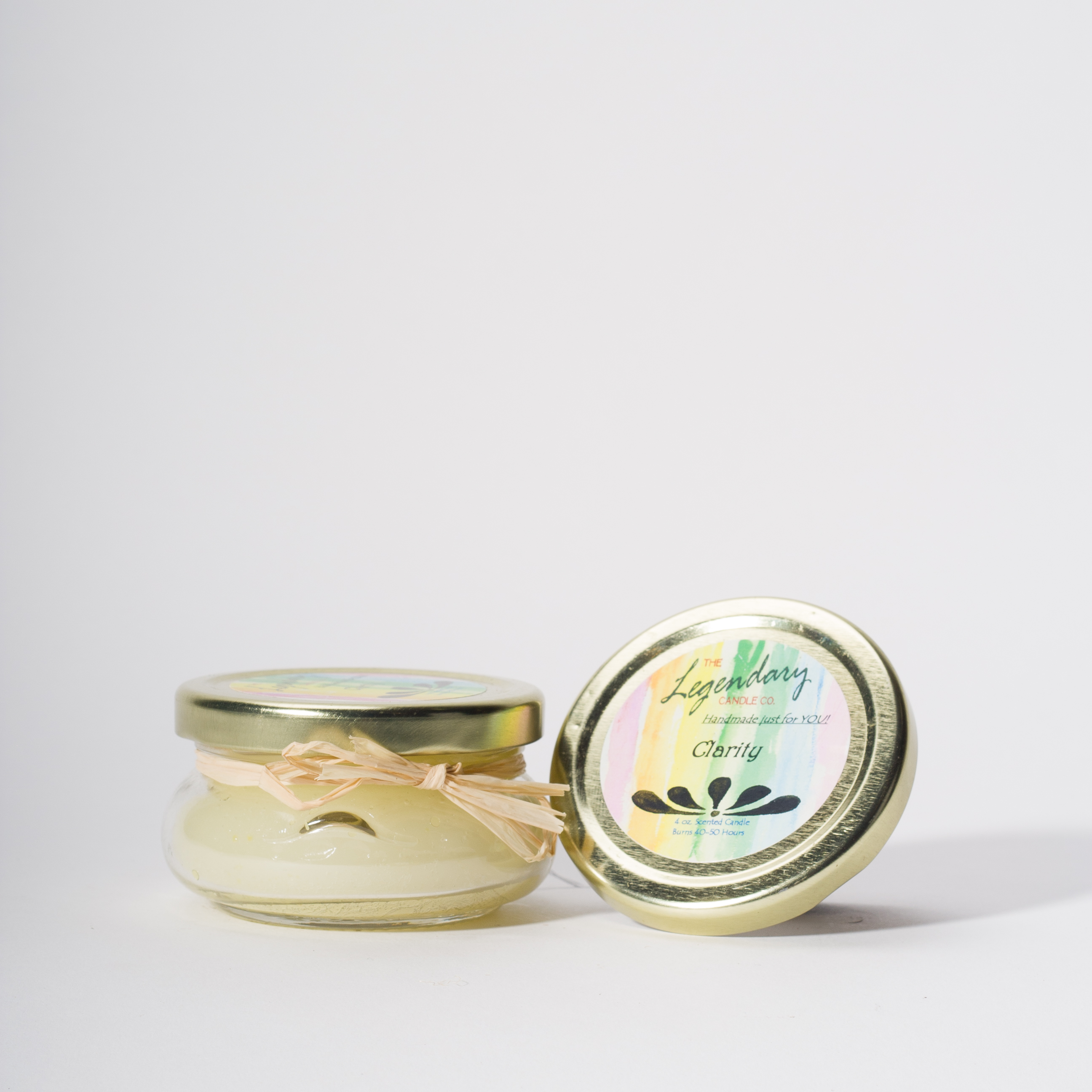 4 Ounce Clarity Scented Tureen Jar Candle