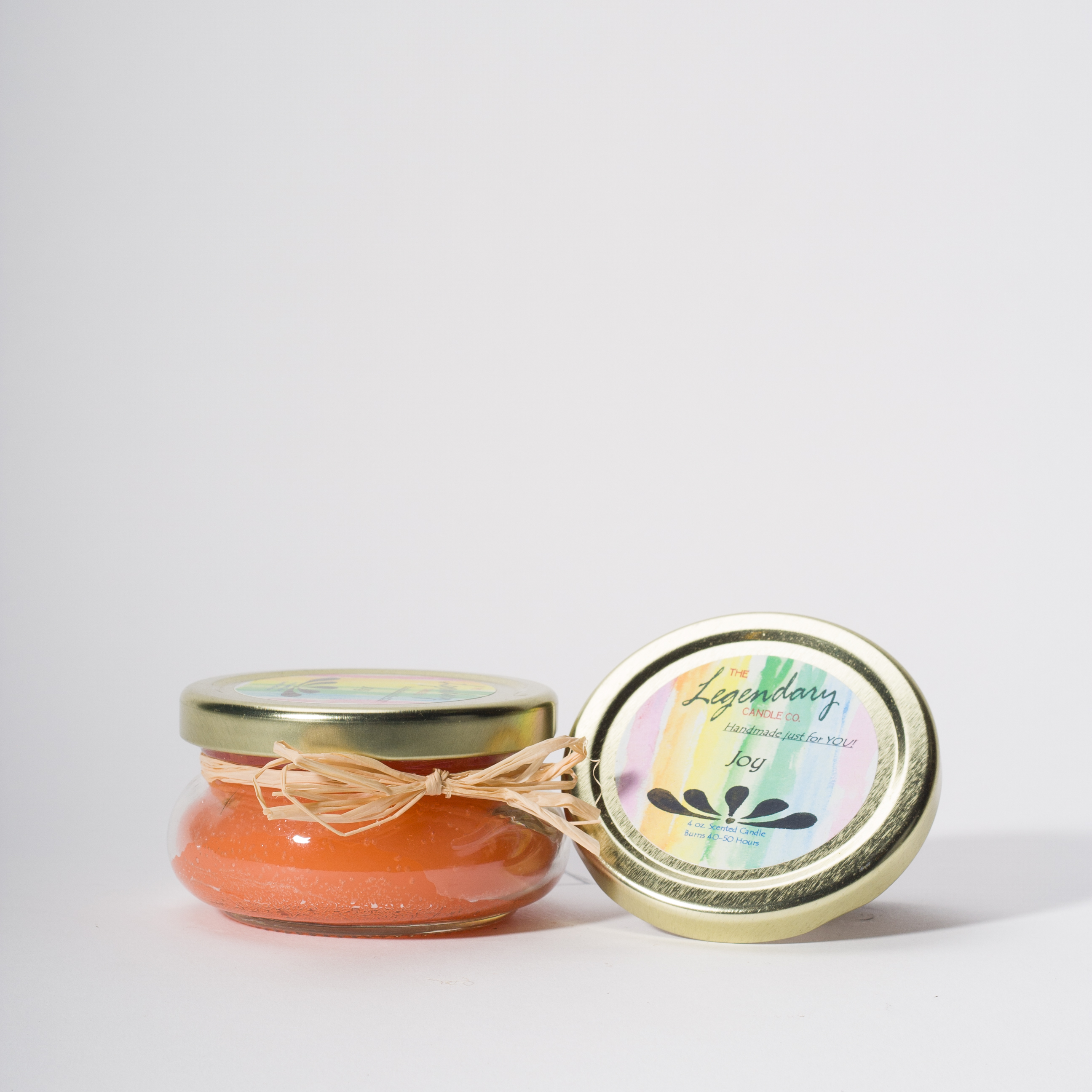 4 Ounce Joy Scented Tureen Jar Candle