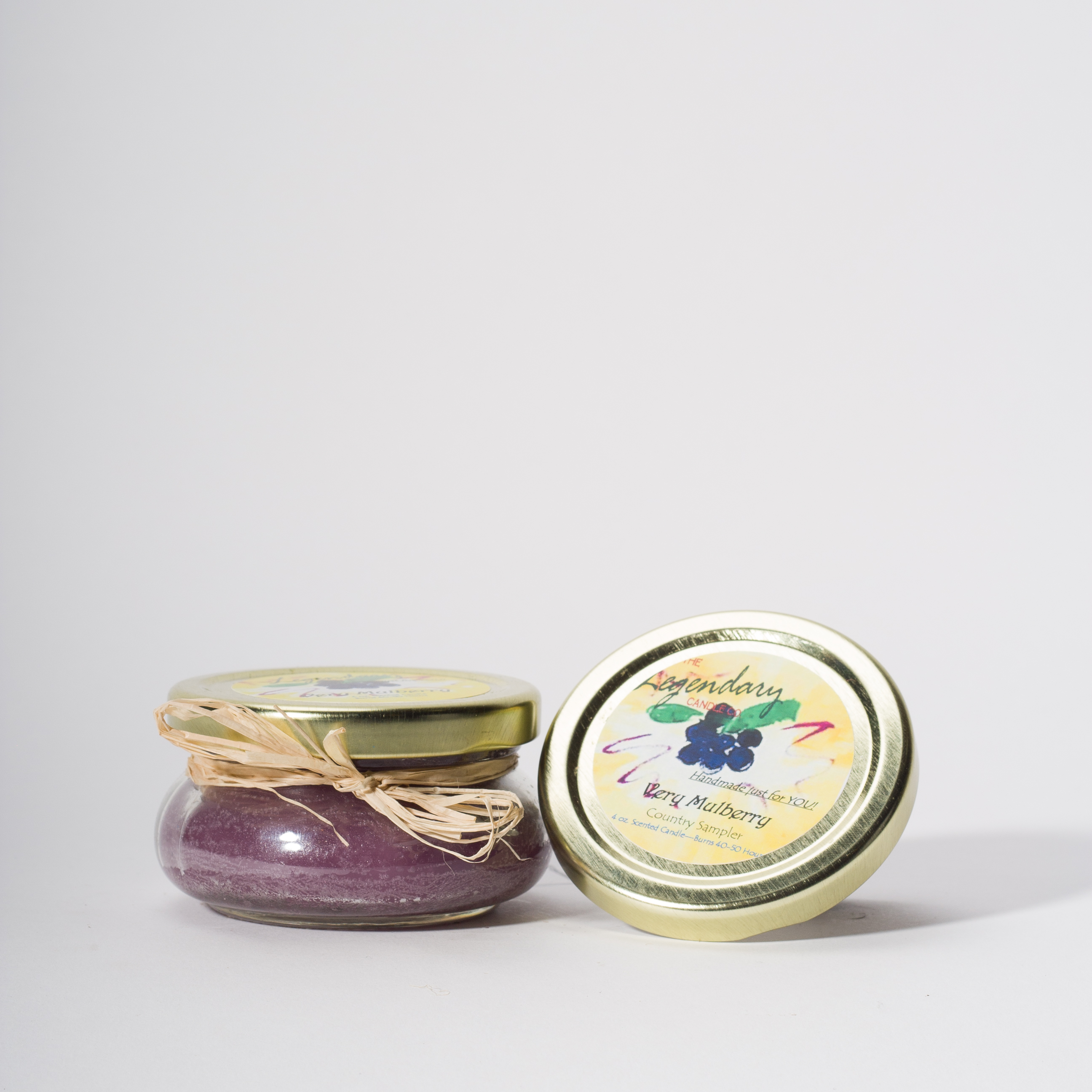 4 Ounce Very Mulberry Scented Tureen Jar Candle
