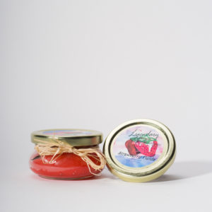 4 Ounce Strawberry Fields Scented Tureen Jar Candle