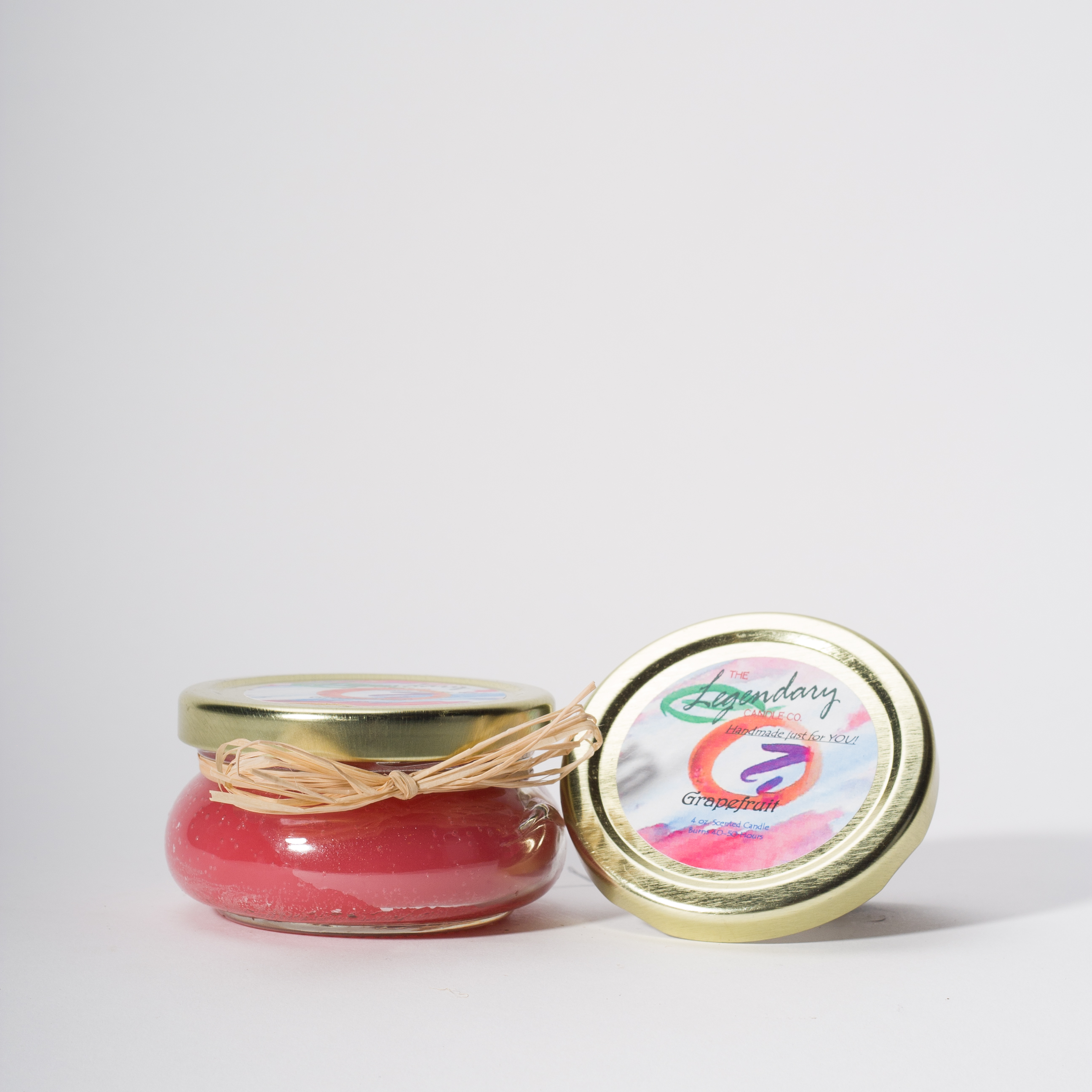 4 Ounce Fresh Grapefruit Scented Tureen Jar Candle
