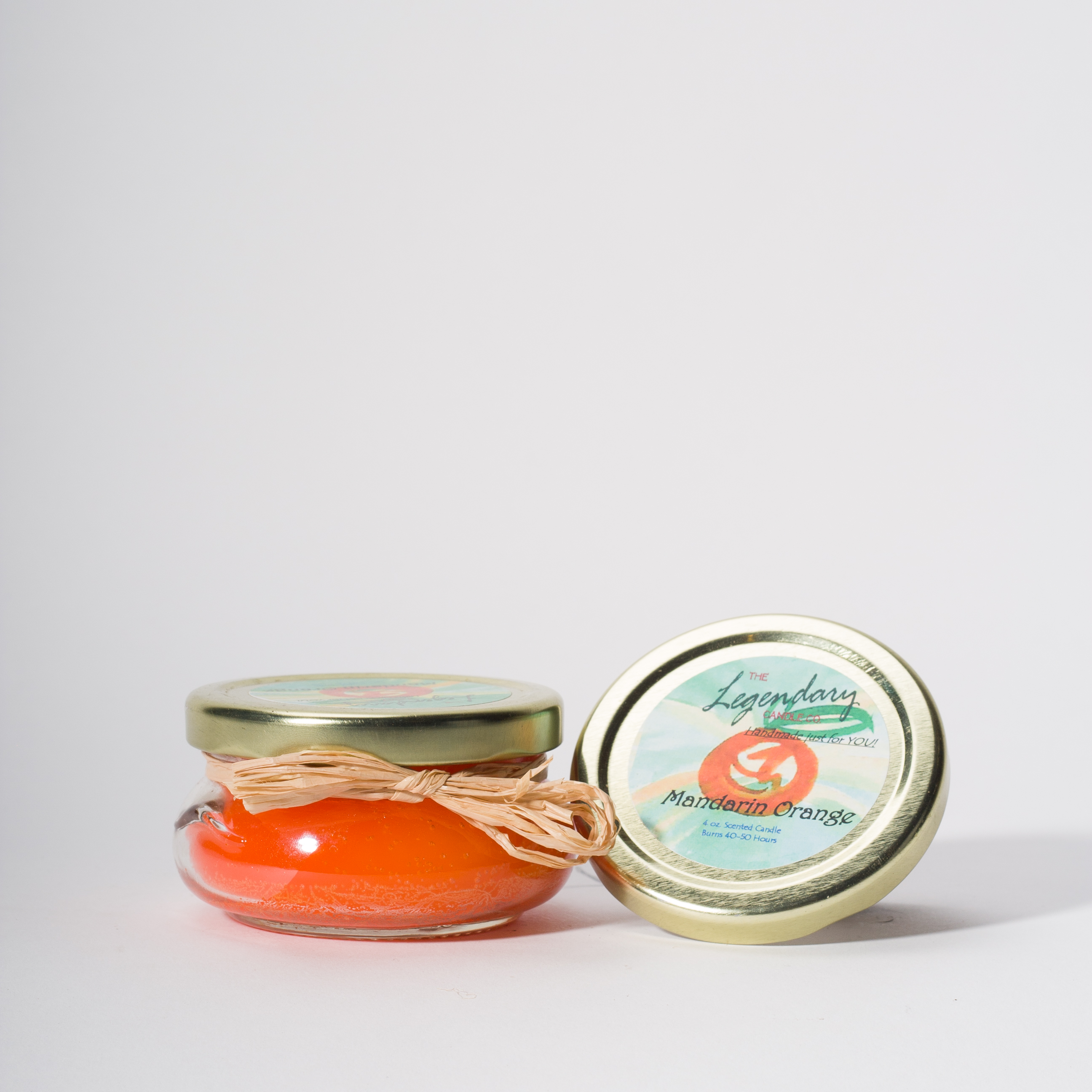 4 Ounce Mandarin Orange Scented Tureen Jar Candle
