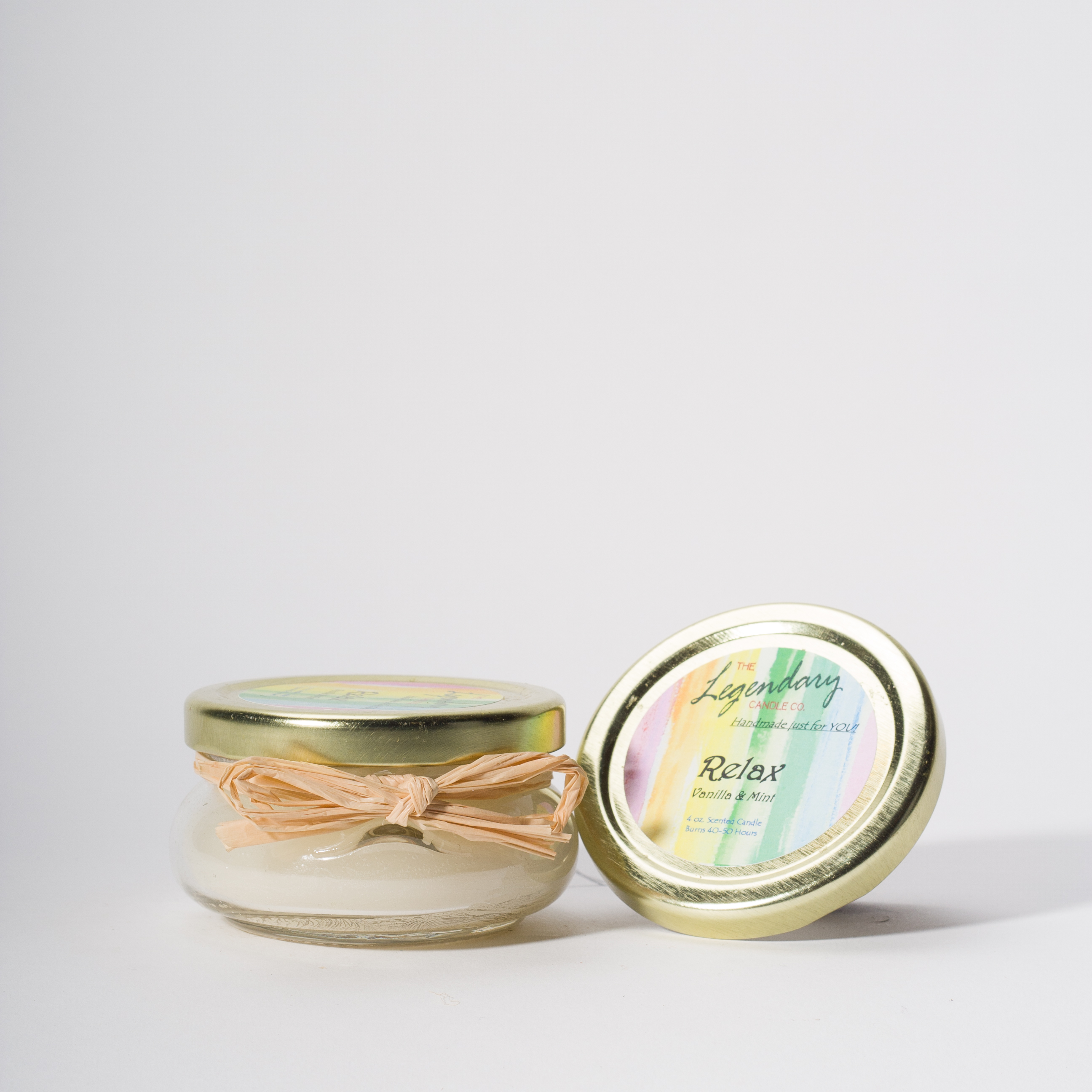 4 Ounce Relax Scented Tureen Jar Candle