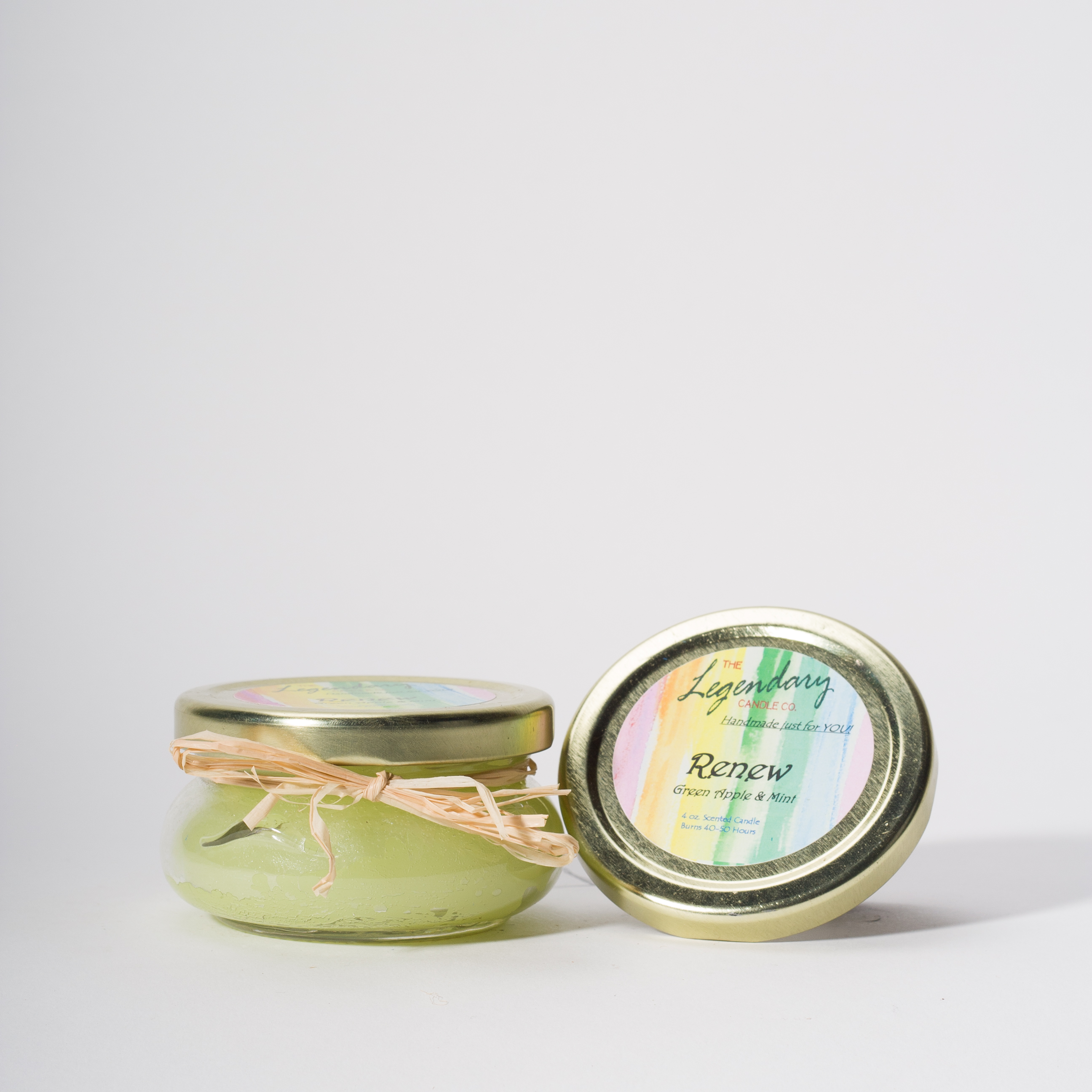 4 Ounce Renew Scented Tureen Jar Candle