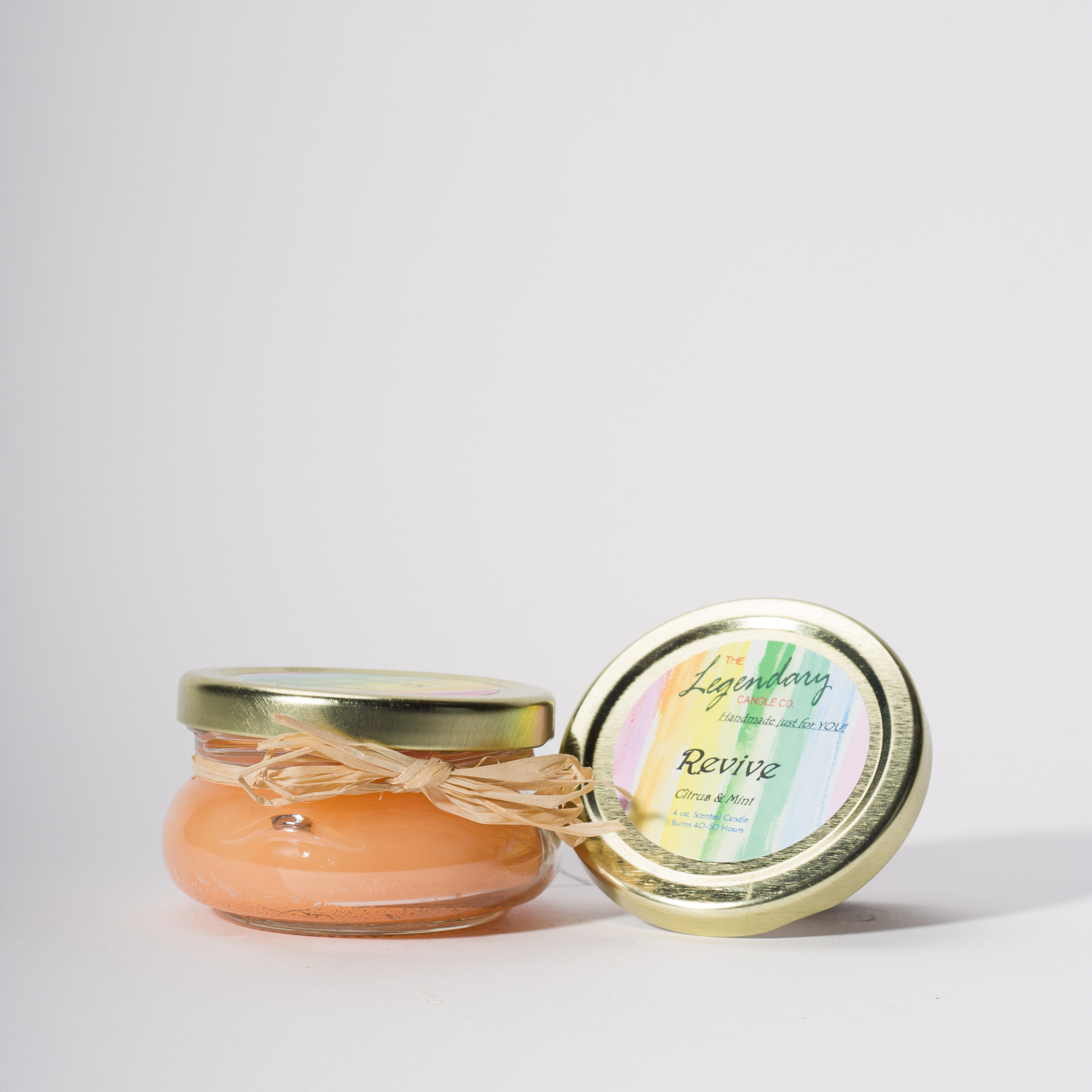 4 Ounce Revive Scented Tureen Jar Candle